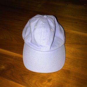 Super cute lavender baseball hat!!